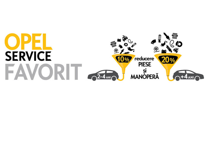 Opel Service Favorit
